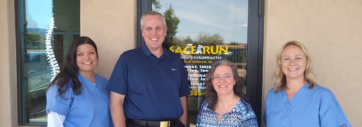 Team at Sage Run Family Chiropractic